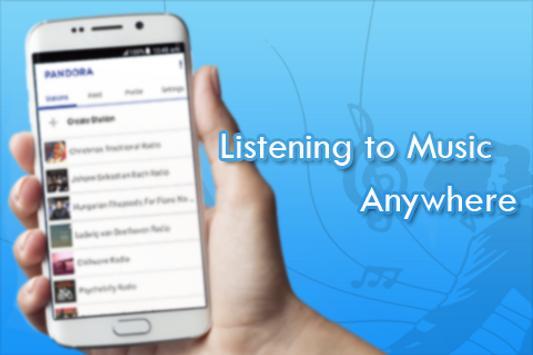 Free Guide Pandora Music Radio poster