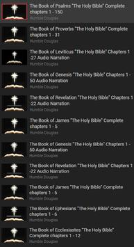Free Holy Bible KJV With Audio poster