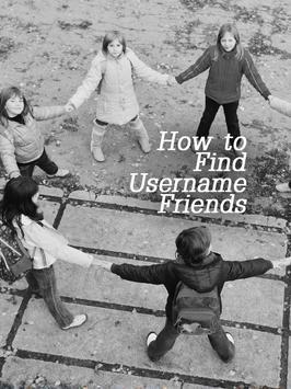 Friend KIK Username Finder Tip poster