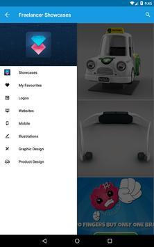Freelancer Showcase apk screenshot