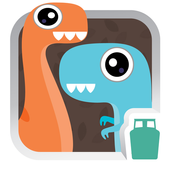 Baby Dino Line Bubble 2 icon