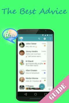 Unified Messenger Hub Disa Tip poster