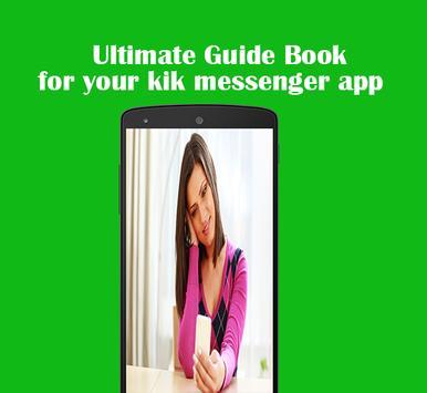 Free Messenger Kik Guide apk screenshot