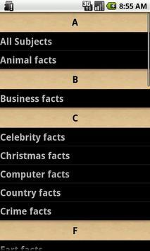 Fun Facts for Free apk screenshot
