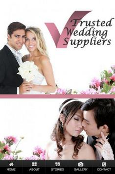Trusted Wedding Suppliers poster