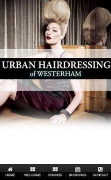 Urban Hairdressing poster