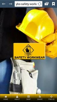 YBS Safety Workwear poster
