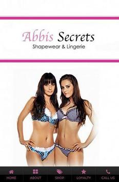 Abbis Secrets poster