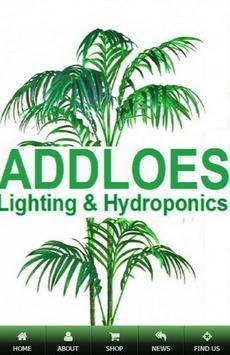 Addloes Lighting & Hydroponics poster