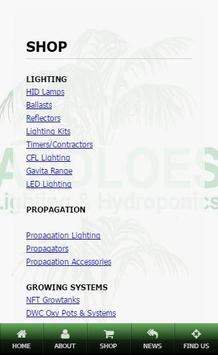 Addloes Lighting & Hydroponics apk screenshot