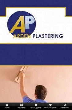 Arden Plastering poster
