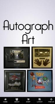 Autograph Art poster