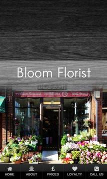 Bloom Florist poster