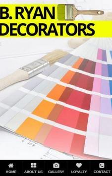 B Ryan Decorators poster