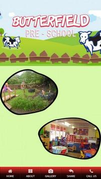 Butterfield Pre School poster