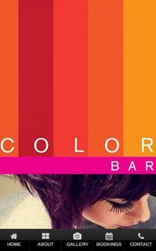 Color Bar poster