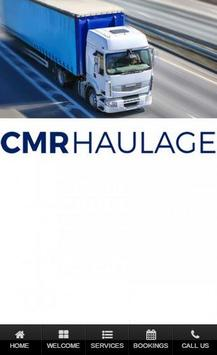 CMR Haulage poster