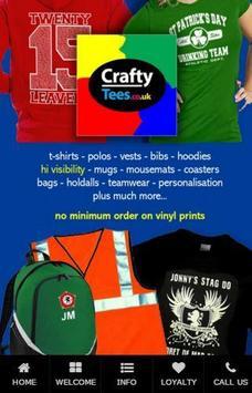 Craftytees poster