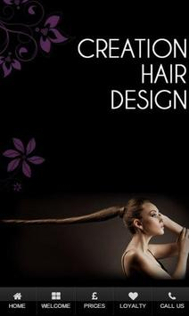 Creation Hair Design poster