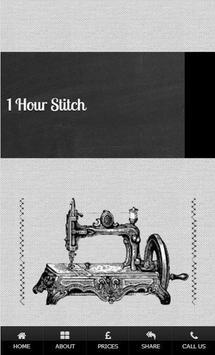 1 Hour Stitch poster