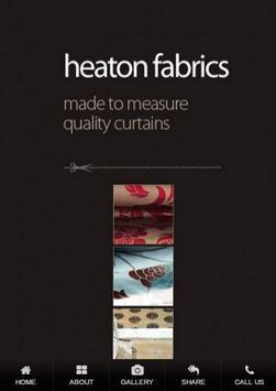 Heaton Fabrics poster