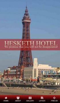 Hesketh Hotel poster