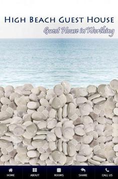 High Beach Worthing poster
