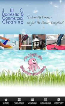 Jellyfish Cleaning Services poster