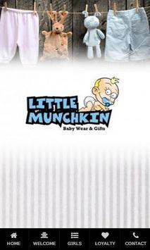 Little Munchkin Baby poster