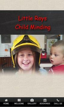 Little Rays Child Minding poster