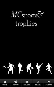 MC SPORTS AND TROPHIES poster