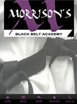 Morrisons Blackbelt poster