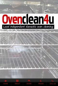 Oven Clean poster