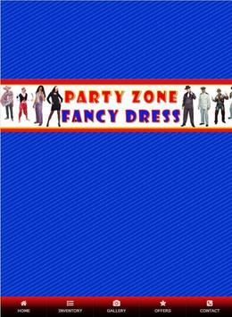 Party Zone Fancy Dress poster