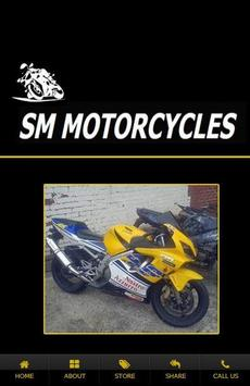 S M Motorcycles poster
