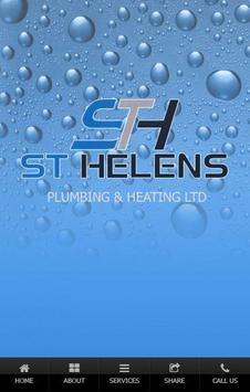 S T H Plumbing And Heating Ltd poster