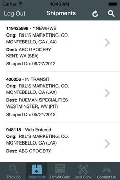 XPO Global Logistics apk screenshot