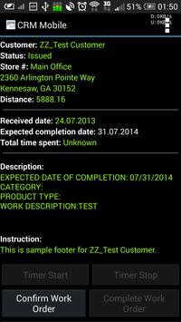 Friendly Solutions CRM mobile apk screenshot