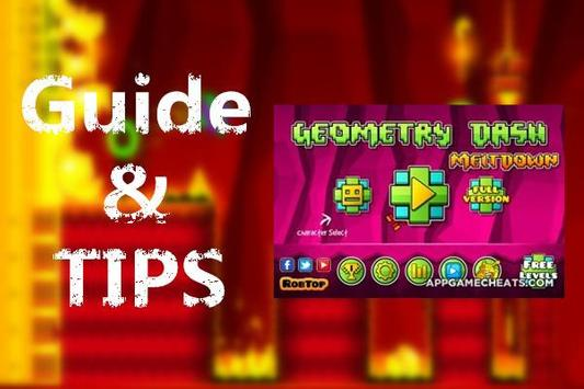 Guide & Tips For Geometry Dash poster