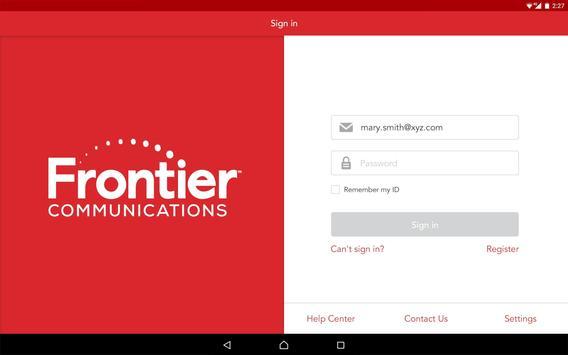 MyFrontier apk screenshot