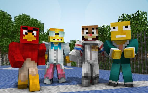 Cartoon Skins for Minecraft apk screenshot
