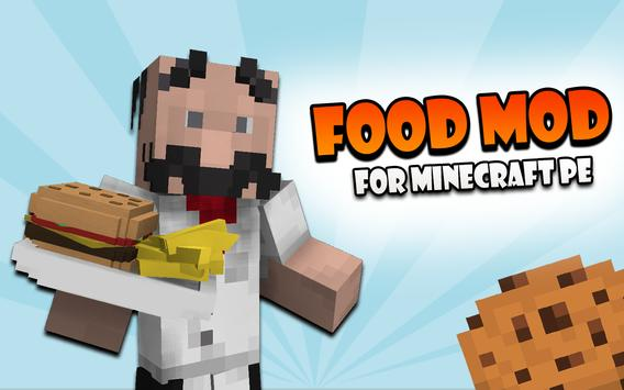 Food mod for Minecraft apk screenshot
