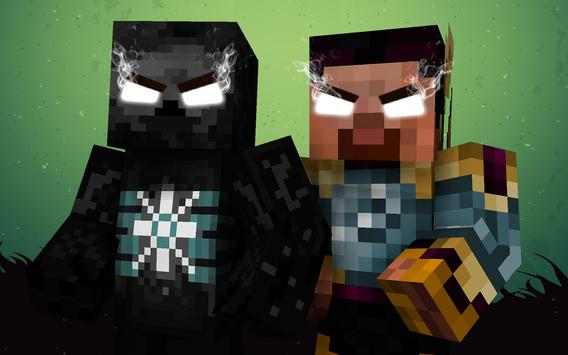 Skins Herobrine for Minecraft apk screenshot