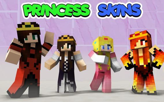 Princess Skins for Minecraft apk screenshot