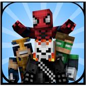 Skins Superhero for Minecraft icon