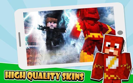 Skins Superhero for Minecraft poster