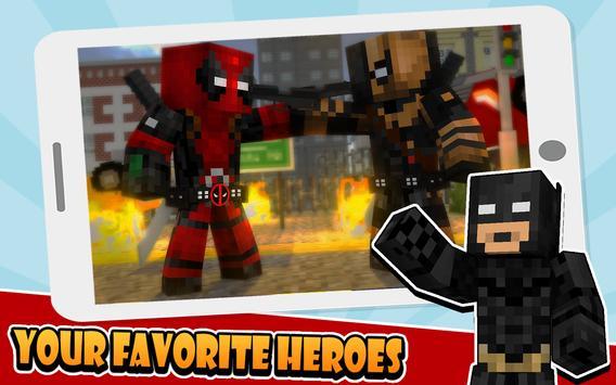 Skins Superhero for Minecraft apk screenshot