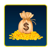 Dollar exchange rate online icon