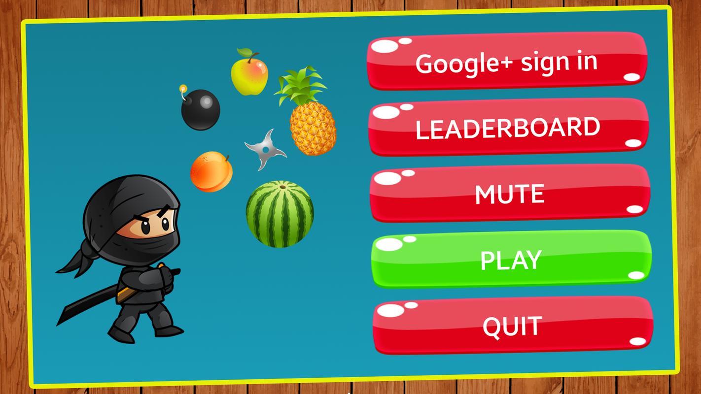 Fruit games free download -  Fruit Splash Ninja Free Apk Screenshot