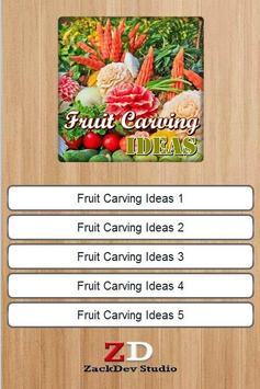 Fruit Carving Ideas apk screenshot